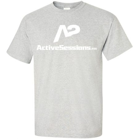 ash grey active sessions tee